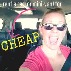 how to get a smokin deal on a rental car