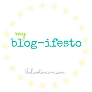my blog-ifesto