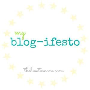 my blog-ifesto