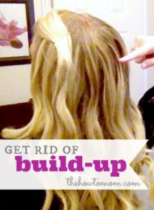 how to get rid of build-up