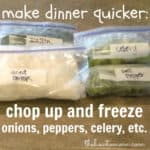 make dinner quicker