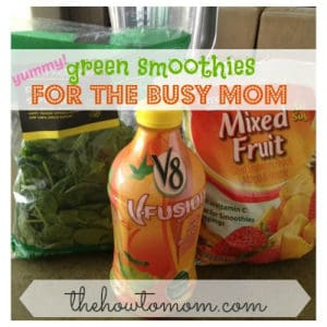 yummy green smoothies for the busy mom