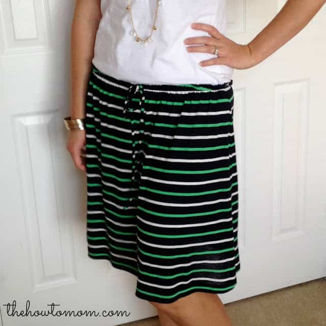 How to Turn a Dress into a Skirt Without Sewing!
