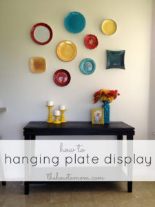 Hanging Plate Display