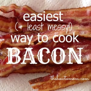 Easiest (and least messy) way to cook bacon