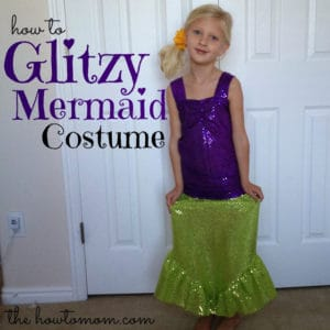 glitzy mermaid costume (part 1)