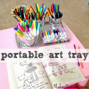 Portable Art Tray (magnetic!)