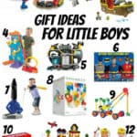 Christmas gift ideas for little boys (ages 3-6)