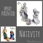 Spray Painted Nativity