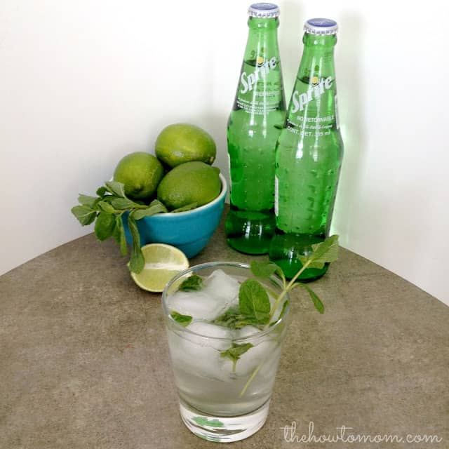 Crisp and Refreshing Virgin Mojitos