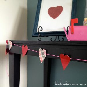 Simple Heart Garland with Duck Brand® Tape