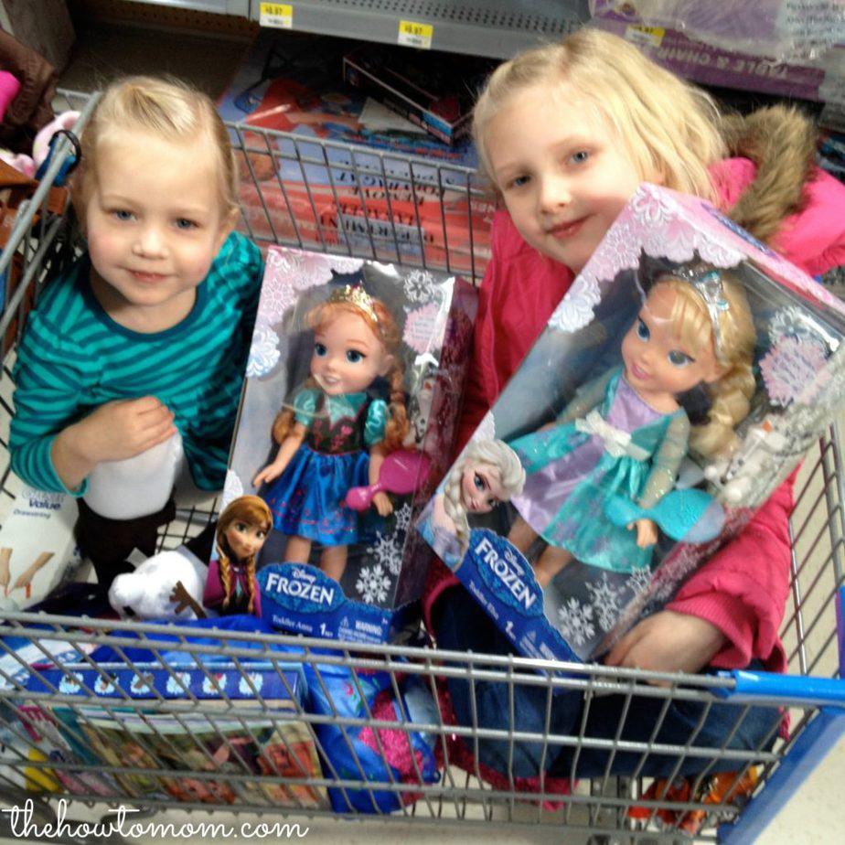 Disney FROZEN the movie Elsa and Anna dolls #shop #frozenfun #cbias