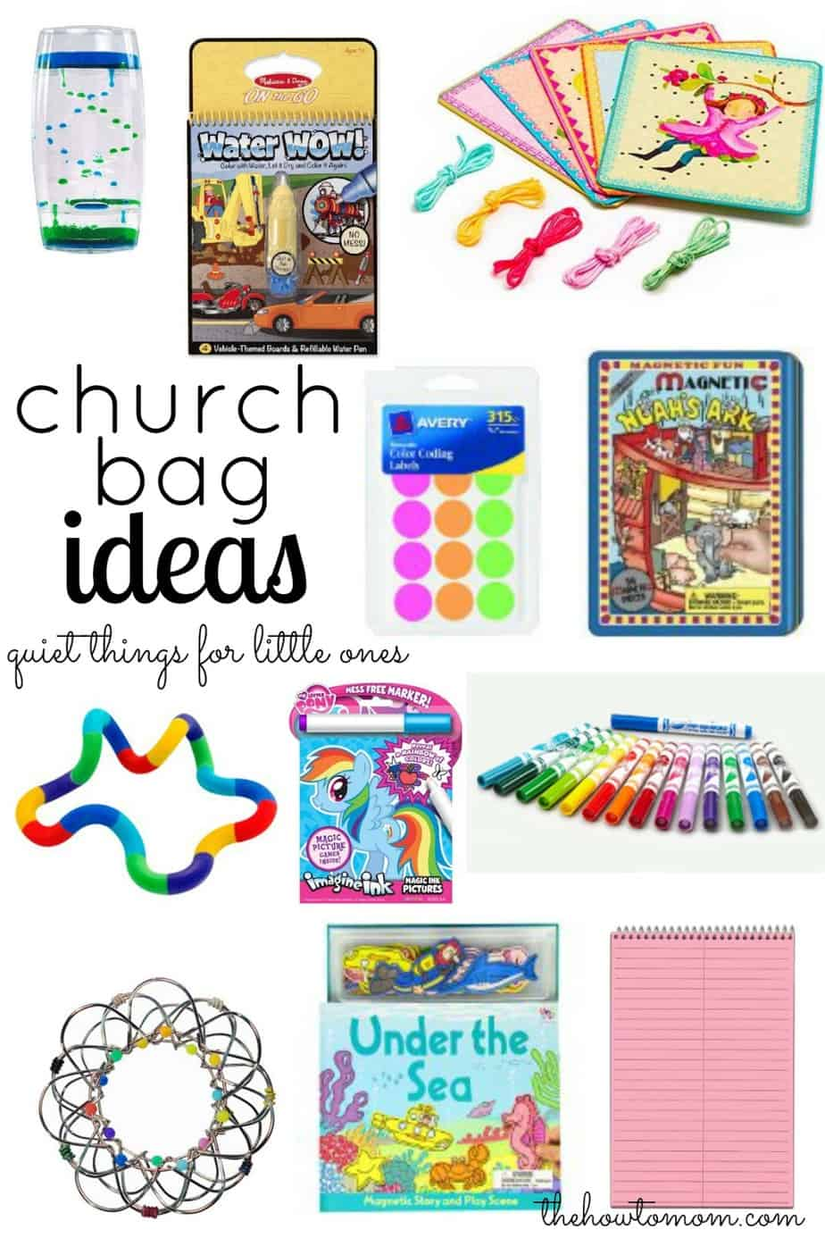 Ride On Toys For Older Kids >> Quiet bags - for church, appointments, car rides, etc ...