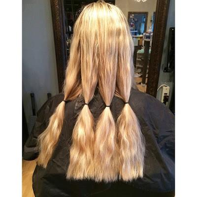 Donating hair to Pantene Great Lengths