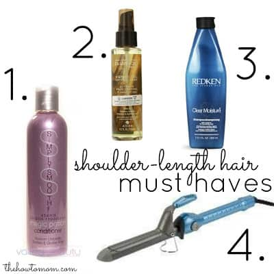 Shoulder-length hair must haves