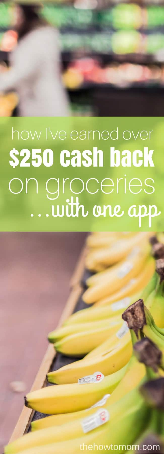 How to get cash back on groceries