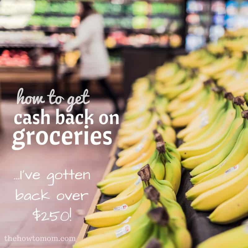 How to get cash back on groceries using one simple app