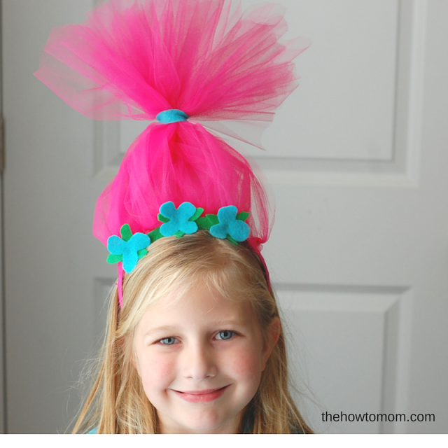 Trolls Inspired Headbands DIY