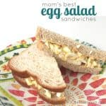 Mom's Best Egg Salad Sandwiches