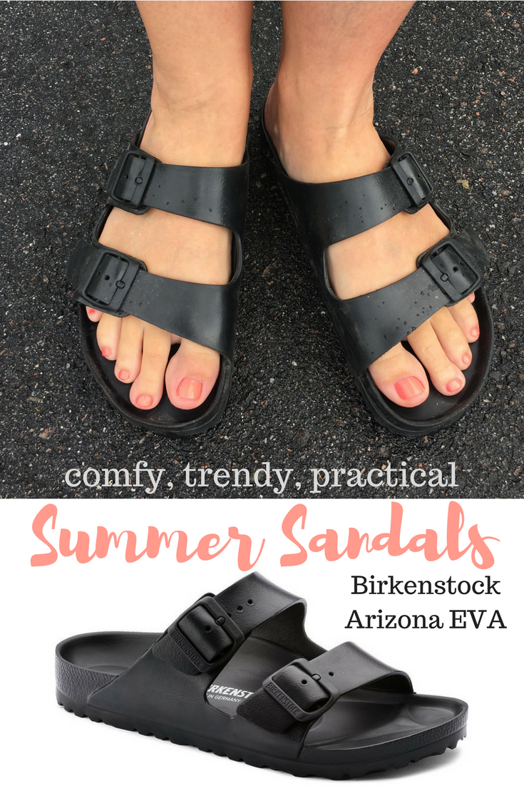 Comfy Summer Sandals - Birkenstock Arizona EVA