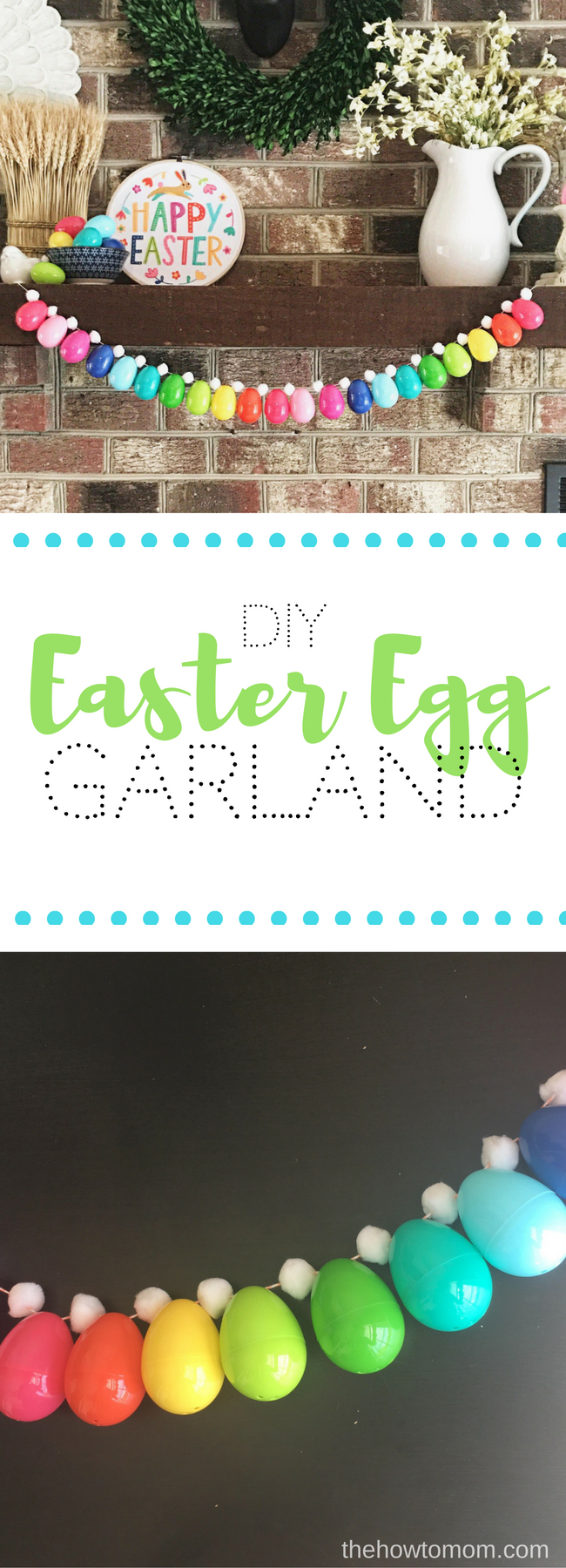 Easy Easter Egg Garland DIY
