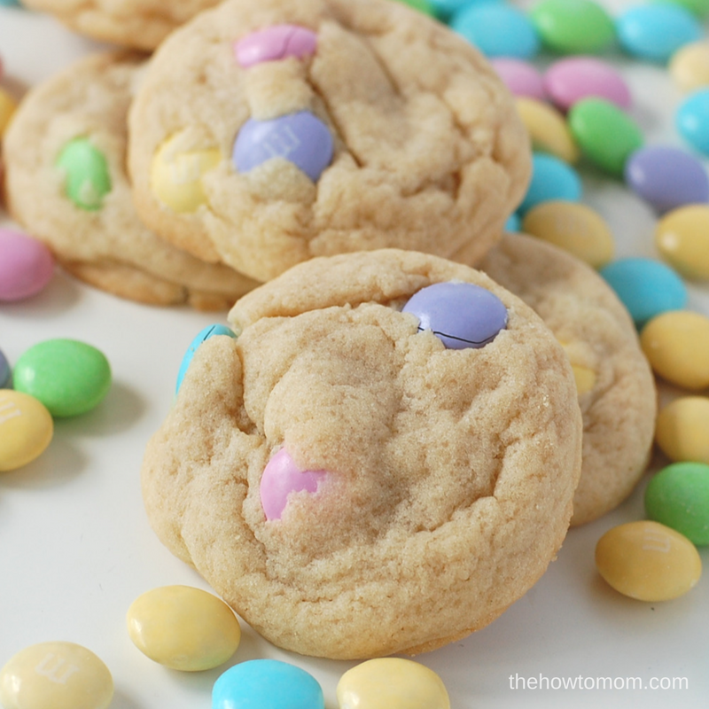 Perfectly Soft M&M Cookies