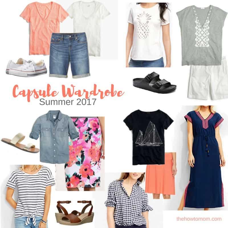 Summer Capsule Wardrobe 2017