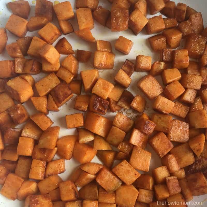 Sweet Potato Sweet Hash