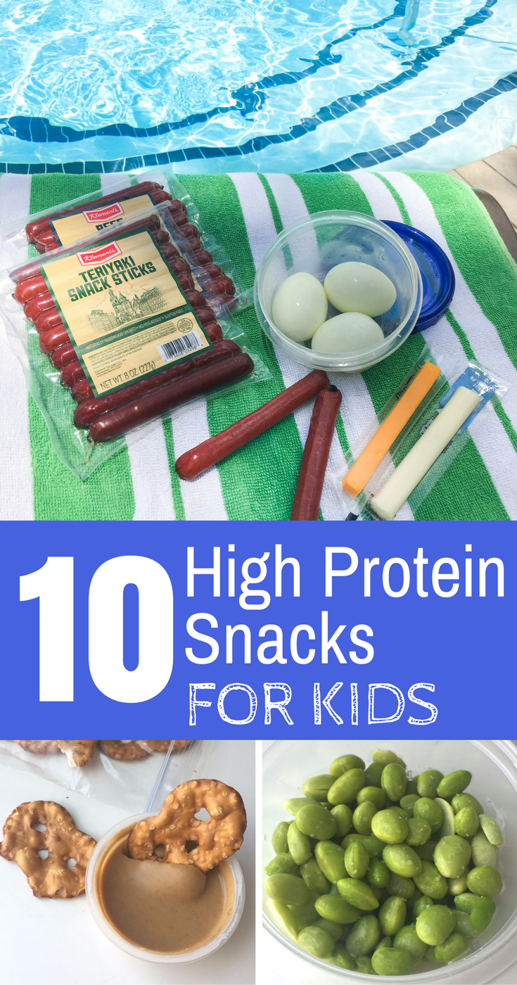 10 High Protein Snacks for Kids