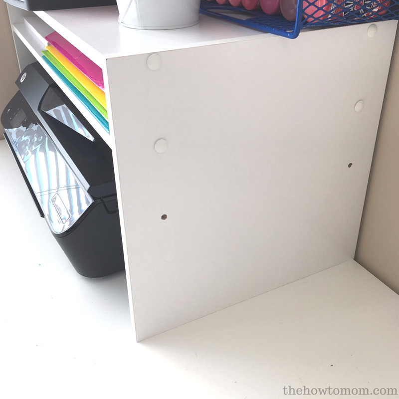 Desktop Printer Shelf DIY