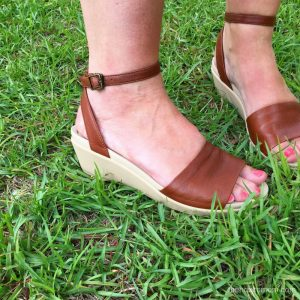 Squishy Summer Sandals – no more flat flip flops!