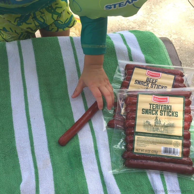 High Protein Snacks for Kids - Klements Beef Sticks