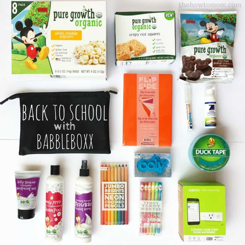 Back to School with BabbleBoxx