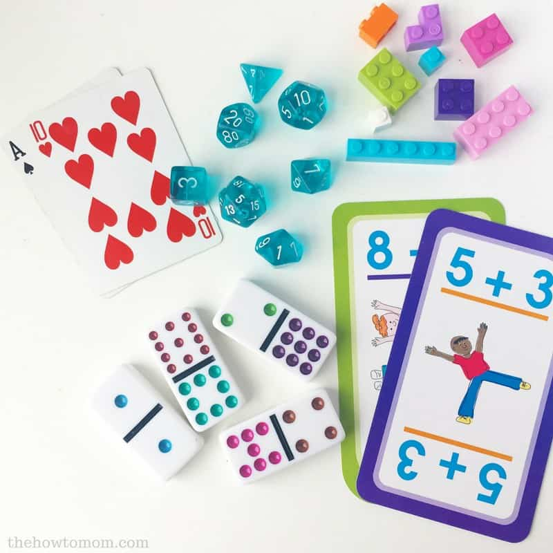 How to Build Math Skills at Home | The How To Mom
