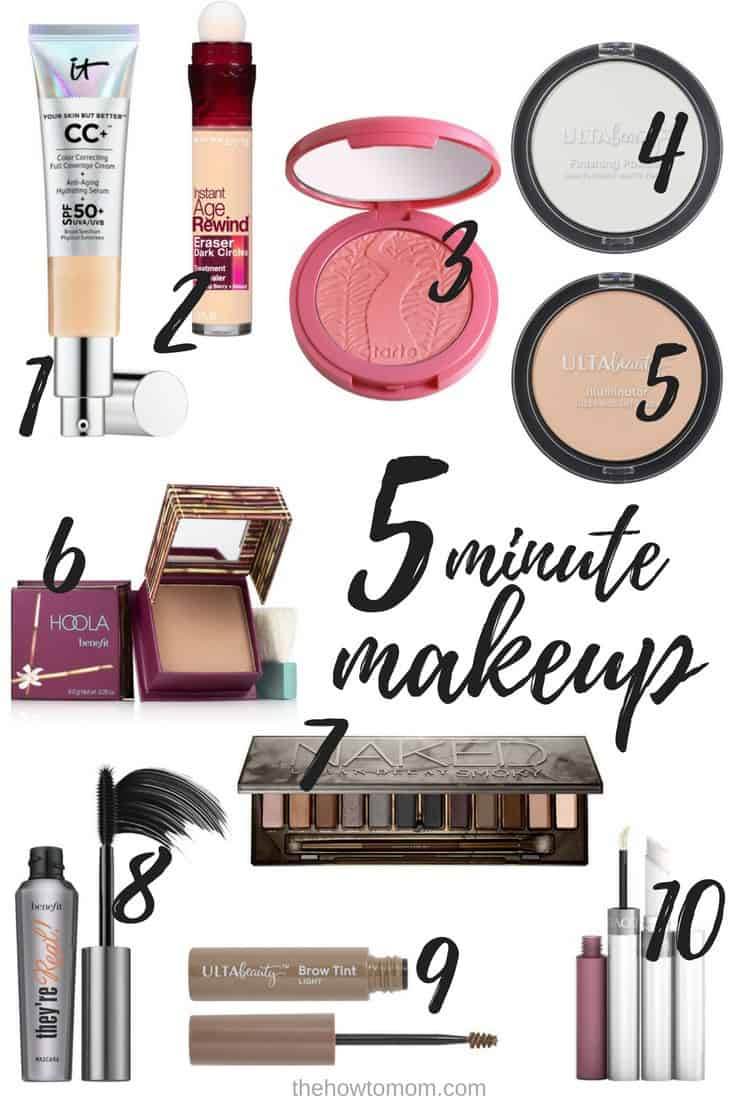 Five Minute Makeup - For Busy Moms