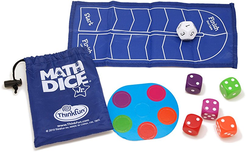 Math Dice Jr - fun ways to build math skills