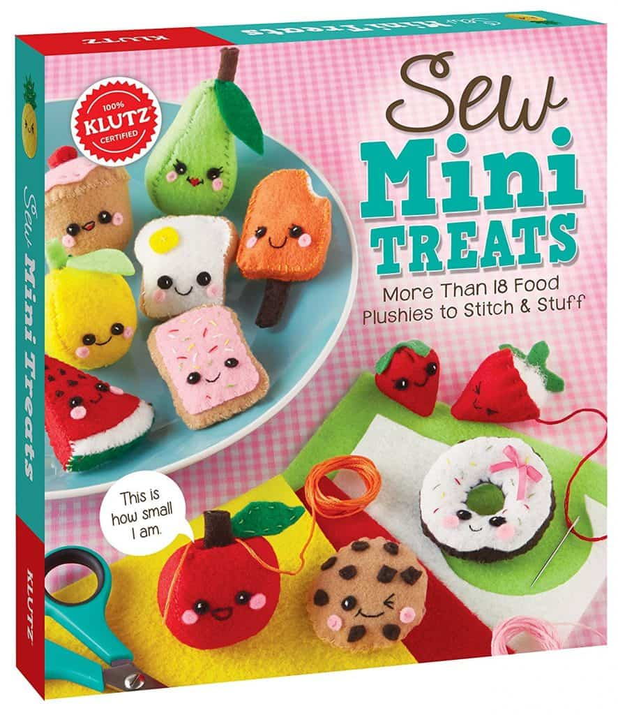 Gift Ideas for Crafty Girls - Sew Mini Plush Kit