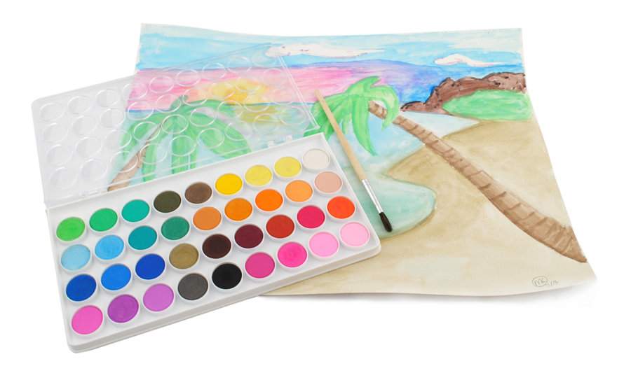 Gift Ideas for Crafty Girls - Watercolor Set