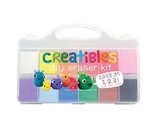 Gift Ideas for Crafty Girls - DIY Eraser Kit