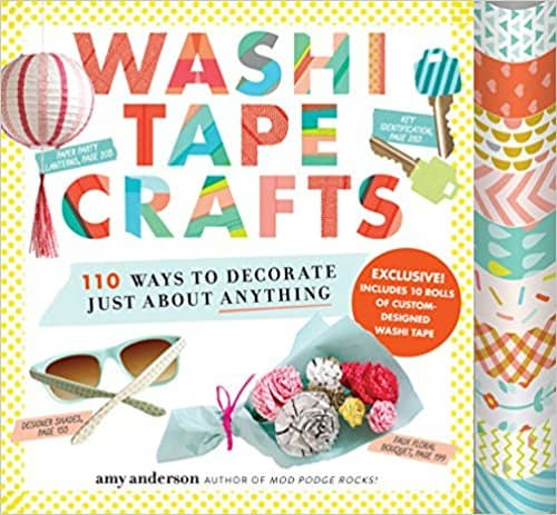 Gift Ideas for Crafty Girls - Washi Tape Crafts