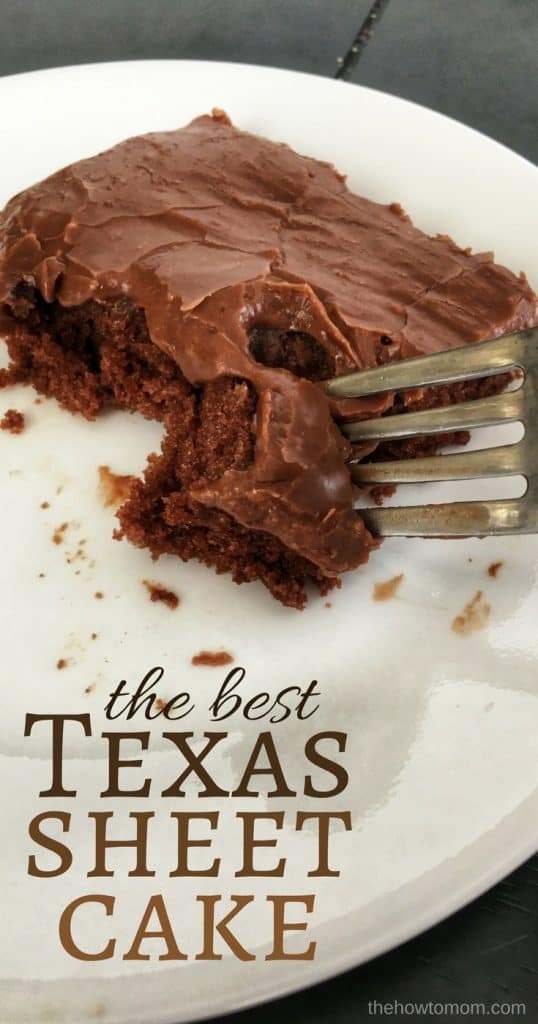 The Best Texas Sheet Cake Recipe