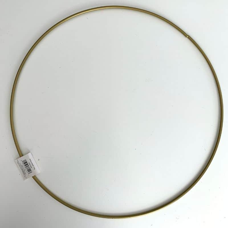 hoop ring wreath