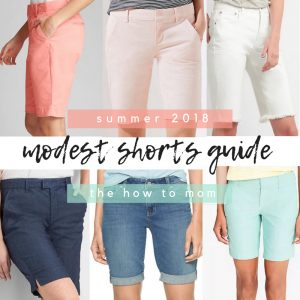 Perfect Modest Shorts – Summer 2018