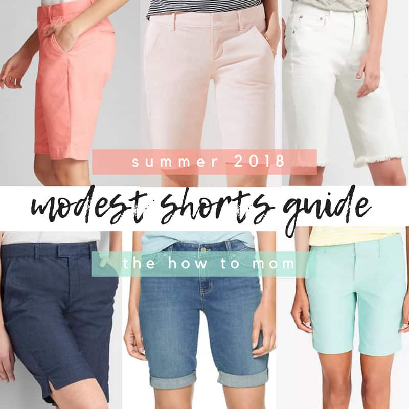 9718743540 Perfect Modest Shorts - Summer 2019 | The How To Mom