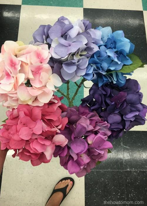 Hydrangea Wreath DIY