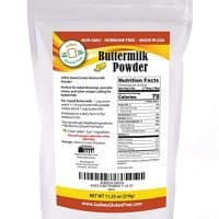 Buttermilk Powder (11.25 Oz): Non-GMO - Hormone Free - USA Produced