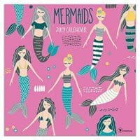Mermaids 2019 Wall Calendar, Modern | Pop Art by TF Publishing