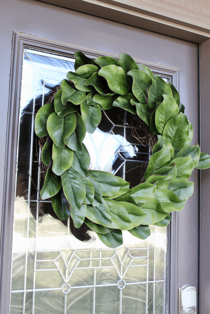 Magnolia Wreath from Love Our Real Life - January Wreath Ideas