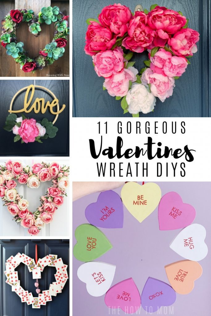 11 Gorgeous Valentines Wreath DIYS