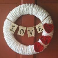 Cozy Love Banner Wreath